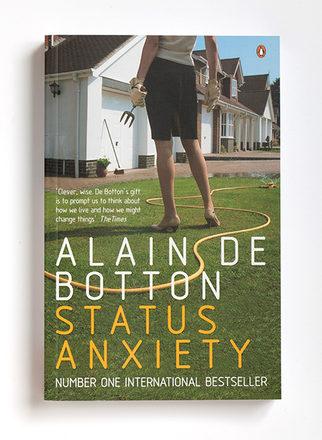 status anxiety alain de botton essay 2010 ap® english language and composition free­response questions (form b) in his 2004 book, status anxiety, alain de botton argues that the chief aim of humorists is not merely to entertain then write an essay that defends, challenges, or.